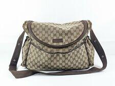 Genuine Gucci Changing Bag, Gucci Baby Bag - Gucci canvas changing bag + Mat