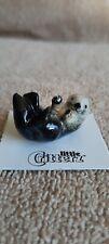 """Little Critterz Sea Otter """"Hammer"""" Miniature Figurine New Lc209"""