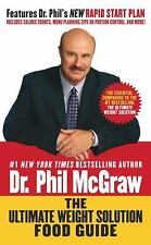THE ULTIMATE WEIGHT SOLUTION FOOD GUIDE Dr. Phil McGraw Menu Plan Paperback Book