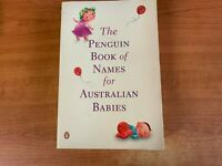 The Penguin Book of Names for Australian Babies #LS4