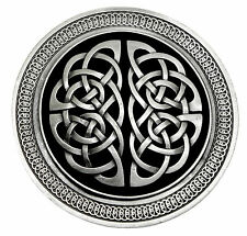 Celtic Knot Belt Buckle Circular Round Intricately Detailed Authentic Product