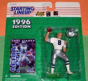 1996 TROY AIKMAN Dallas Cowboys hof * FREE s/h * Starting Lineup