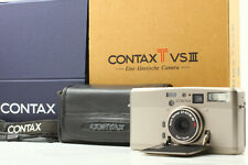 [Mint In Box] CONTAX TVS III 35mm Point & Shoot Film Camera w/ Case from Japan