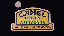 i47 Adesivo Sticker CAMEL TROPHY  '89 AMAZONAS  1980-1989 mint