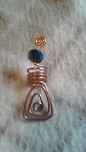 Copper Dreadlock/Loc jewelry, Dread beads, Braid, twists, hair accessor/ jewelry