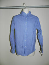 Red Snap Button Front Shirt Mens Small Blue Multi Color NWT