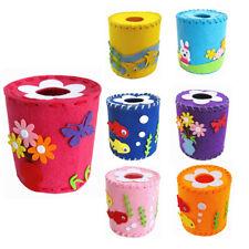 DIY 3D EVA ClothTissue Holder Box Cover Case Kids Child Craft Toy Kits C#P5