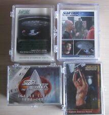 Star Trek TNG - Trading Cards - Lot 4x sets - sehr guter Zustand