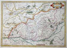 MERCATOR HONDIUS FRANKREICH BURGUNDIA DUCATUS HERZOGTUM BURGUND 1631