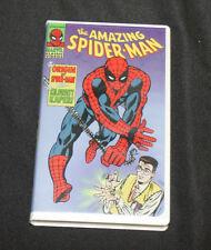 MARVEL AMAZING SPIDER-MAN VHS 2 EPISODES: ORIGIN OF SPIDER-MAN & KILOWATT KAPER!