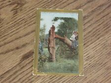 Caught Lovers (My Title) Vintage Postcard (FC1-4)