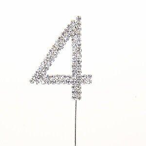 Diamante '4' Pick- Silver