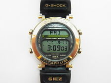 G-Shock First Gold GIEZ GS-100 G-9A Titanium Men's Casio Watch Not bezel