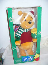 "Telco Disney Animated Light Up 24"" Winnie the POOH Motionette Xmas Holiday Decor"