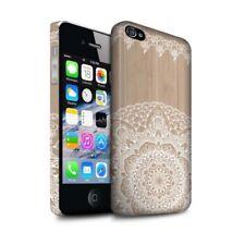 Housses et coques anti-chocs Pour iPhone 5s en bois, bambou pour téléphone mobile et assistant personnel (PDA)