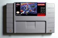 Mega Man X SNES 16-Bit Game Cartridge English USA NTSC
