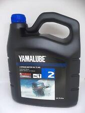 YAMAHA Genuine Yamalube 2 Stroke Outboard Motor Oil TC-W3 4 Litre *NEW* Marine