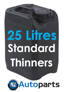 25 Litres Standard Thinners Spray Gun Parts Cleaner Cellulose Paint Thinner 25L