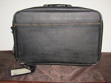 Vintage Retro Bantam Black Suitcase/Luggage/Overnight carry-on with Keys