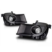 For 2004-2005 Mitsubishi Lancer Clear Lens Chrome Housing ABS Fog Lights Lamps