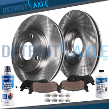 Front Brake Rotors & Ceramic Pads 2004 - 2009 2010 2011 Chevy Aveo Pontiac Wave