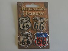 4 ROUTE 66 SMALL PATCH SET