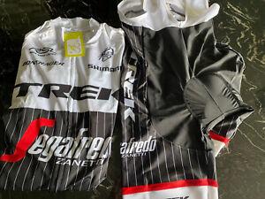 New Men's TREK Bontrager Segafredo Kit - Short Sleeve Jersey & Bibs