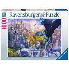 JAN PATRIK KRASNY - DRACHENSCHLOSS - Ravensburger Puzzle 15252 - 1000 Teile Pcs.
