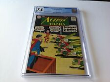 ACTION COMICS 273 CGC 7.5 SUPERGIRL PICK NEW HAIR MR. MXYZPTLK DC COMICS 1961