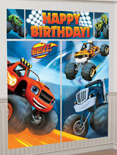 Blaze & The Monster Machines Birthday Party Giant Scene Setter Banner Decoration