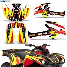 Graphic Kit Can-Am Outlander MAX/XMR 500/650/800 Quad Decal Wrap 06-12 Parts R S