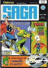 OMBRAX SAGA (SUPER HEROS) 247 LUG 1986 TBE