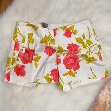 NWT Ann Taylor Floral Print Cotton Shorts Size 2