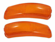 New VW Type 34 Amber Front Turn Signal Lens Kit 1961-1969
