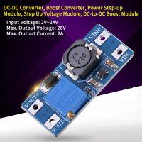 MT3608 DC2V~24V to DC28V Adjustable Boost Converter Step Up Power Supply Module