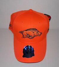finest selection cc324 48cf0 Arkansas Razorbacks Adjustable Hat 3D Embroidered Hunting Cap