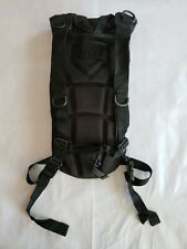 3L Water Bladder Bag Military Hiking Camping Hydration Backpack Pack (BLACK)