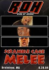 Official Ring of Honor ROH Scramble Cage Melee (Pre-Owned DVD)