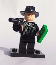 NEW CUSTOM 100% LEGO BATMAN WEAPONS GANGSTER MOB GUY THUG W/ CASH AND TOMMY GUN
