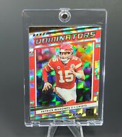 Patrick Mahomes DONRUSS OPTIC CHIEFS CARD - HOLO REFRACTOR - INVESTMENT - MINT