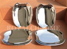 US STOCK for Jaguar X351 09-ON XJ XJL & 08-15 XF XFR x4 CHROME Door Handle Cups