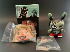 """Kidrobot Dunny - The Odd Ones (2016) """"Ghoulie Jill"""" by Scott Tolleson"""