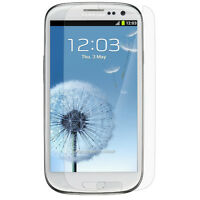 6x HD Clear Screen Protector Guard For Samsung Galaxy SIII S3 i9300T999/i535L710