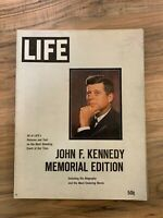 LIFE MAGAZINE JFK John F. Kennedy Memorial Edition // Great articles and ad's