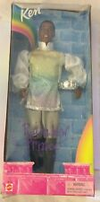 Rainbow Prince Ken Barbie Doll African American rare brand new damaged box