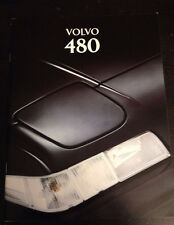 wonderful catalogue VOLVO 480 1995 - english version - number MS/PV 6706-95
