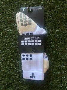 Trusox 3.0 Mid-Calf Cushioned Soccer Socks- White