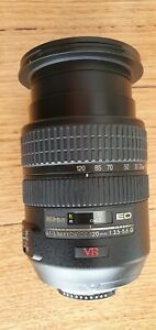 Nikon Zoom-Nikkor 24-120mm f/3.5-5.6 VR ED AF IF Lens EXCELLENT CONDITION