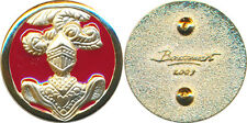 Insigne de col, SPAHIS, fond rouge, doré, tirage 2009, Boussemart (7639)
