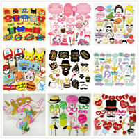 Birthday Wedding Party Photo Booth Props Supply Funny Game Gift Team Bride HOT